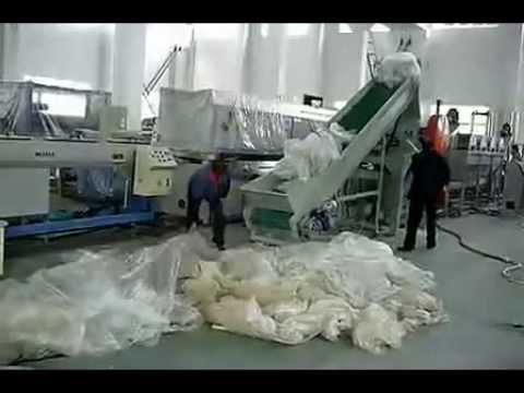 Maquinas economicas para moler lavar y secar los - Maquina de reciclaje de plastico ...