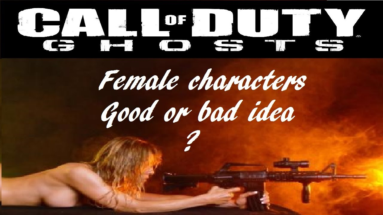 Call of Duty Ghost Character Call of Duty Ghosts Female
