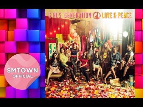 Girls' Generation 少女時代_Love & Peace Album Non Stop Remix_Music Video