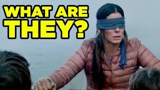 BIRD BOX Monsters Explained! Deleted Scene & Details You Missed!