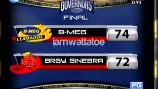 #Manilaclasico Do or Die Edition 072012 (final 15s of Regulation)
