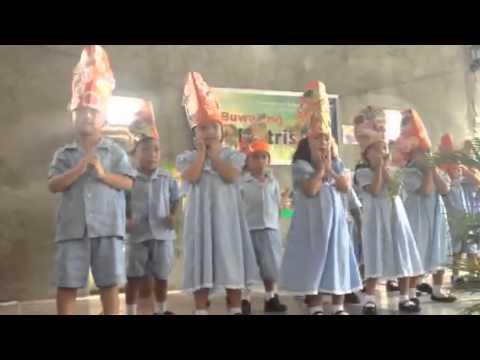 Kindergarten Dancing Makulay Ang Buhay Sa Sinabawang Gulay. video