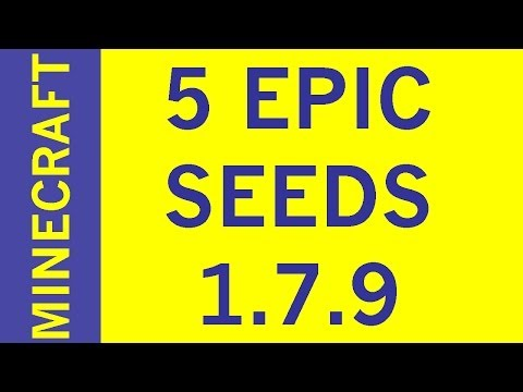 TOP 5 SEEDS 1.7.9 Minecraft