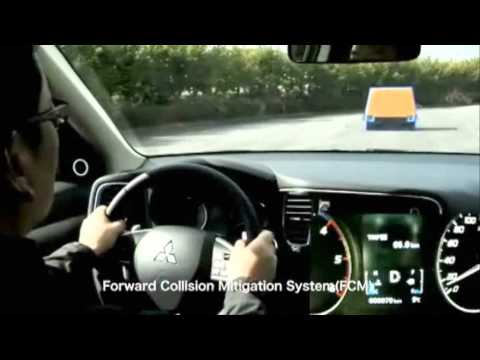 Mitsubishi Forward Collision Mitigation (с-ма смягчения столкновения) | Euro NCAP Advanced | Победитель 2013