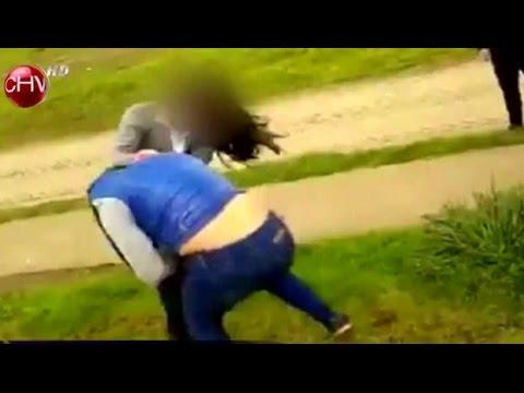 Video muestra pelea entre dos niñas escolares de Valdivia - CHV Noticias