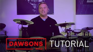 Roland V-Drums - Editing your kits (TD-4KP)