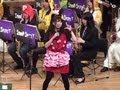 女子高生のピンクレディ 熊本西高の定期演奏会