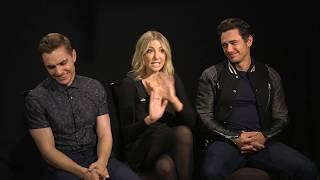 The Disaster Artist Interview - James Franco, Dave Franco & Ari Graynor