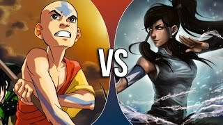 VS | Aang vs Korra