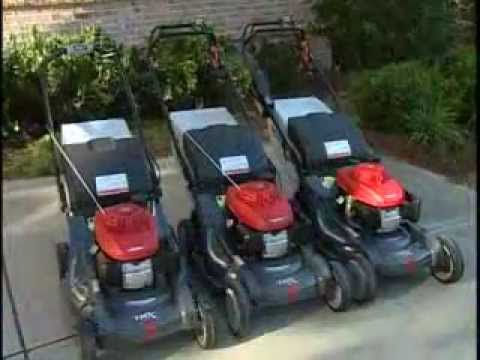 Honda Power Equipment  Full Line Lawnmower Review