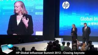 Day2 HP Global Summit Shanghai 2012 - Meg Whitman closing keynote