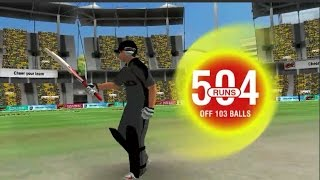 Virat Kohli highest score  504*(103) in ODI WCC2 | World cricket championship 2....