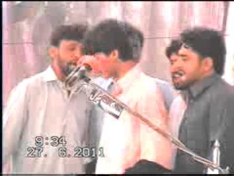 Majlis Talagang 27June2011 (Amjad Hussain Ghukar & Nazakat Hussain Baloch Bhakar)