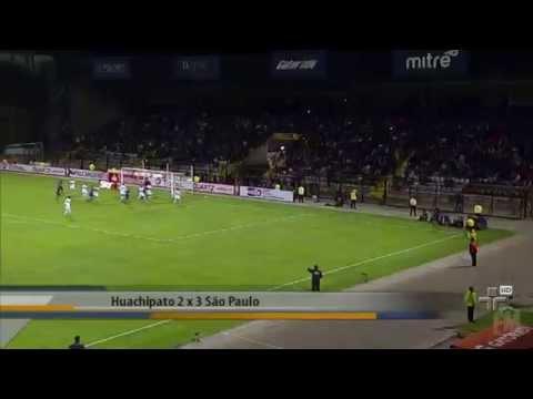 SPFC  vence o Huachipato com gol de Paulo Henrique Ganso no Chile - 16/10/2014