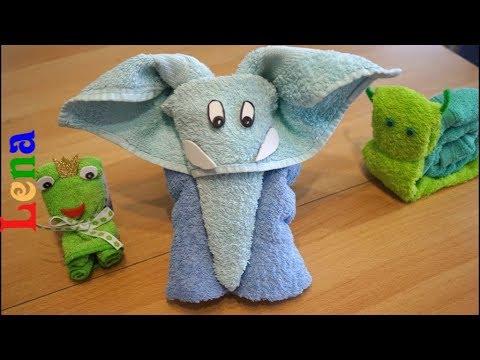 Handtuch Elefanten falten