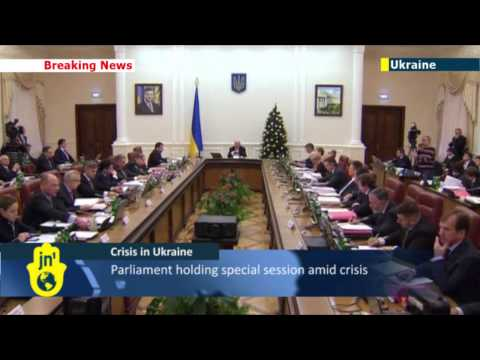 Crisis in Ukraine: Prime Minister Mykola Azarov resigns as parliament cancels anti-protest laws