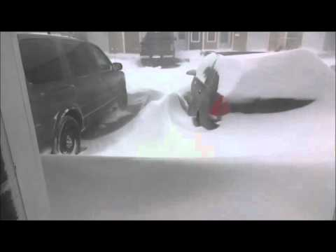 50 cm Of snow In Eastern Canada