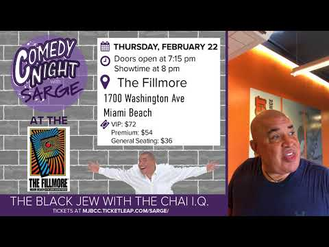 Comedy Night with Sarge at Fillmore