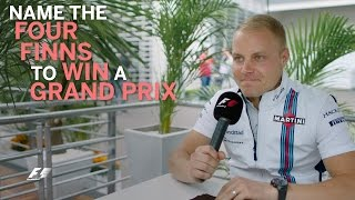 Grill The Grid - Valtteri Bottas