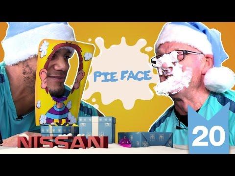 PIE FACE: KOMPANY v CHAPPY | Man City Advent Calendar | Day 20