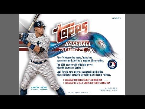 2018 Topps Series ONE Baseball