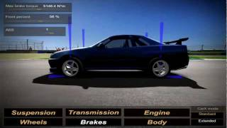 CarX Video - braking balance in CarX 2.0 (www.carx-tech.com)