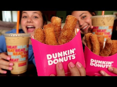 NEW Dunkin Donuts DONUT FRIES