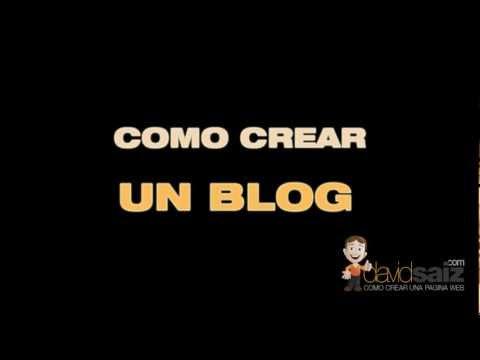 Como crear un buen blog | Curso Wordpress Gratis en davidsaiz.com