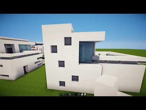 Minecraft: Como hacer una casa moderna | #9 - Tutoriales construcciones!