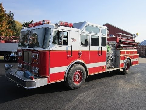 rts 1991 seagrave pumper used fire trucks for sale used fire apparatus 631 612 8712 youtube. Black Bedroom Furniture Sets. Home Design Ideas