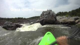 Great Falls MD & Center Lines - Kayaking with GoPro