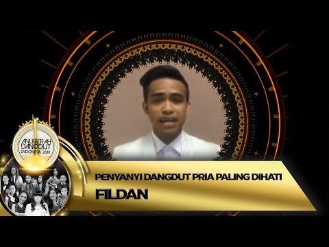 Selamat! Fildan terpilih menjadi Penyanyi Dangdut Pria Paling Dihati - ADI 2018 (16/11)