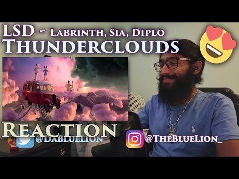 Download Lagu  REACTION to LSD - Thunderclouds   ft. Sia, Diplo, Labrinth 🍭 Mp3 Free