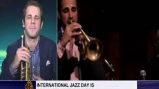 Dominick Farinacci UNESCO International Jazz Day Interview / Al Jazeera English