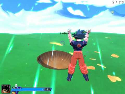 ZEQ2 Lite Goku Spirit Bomb.avi