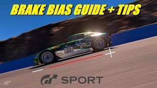 GT Sport A Basic Guide To Brake Bias - Top Tips Part 2