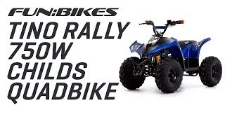 The Tino Rally 750W Electric Kids Quad Bike from FunBikes