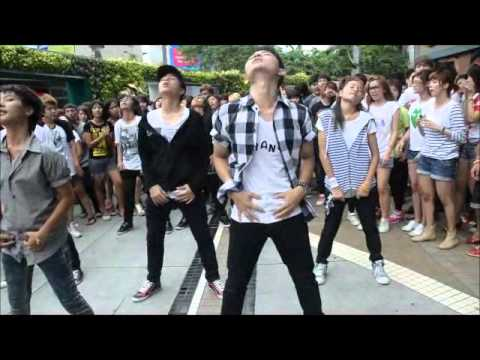 Dreamstage Korea: Global Flashmob Day – Bangkok (Thailand) part2