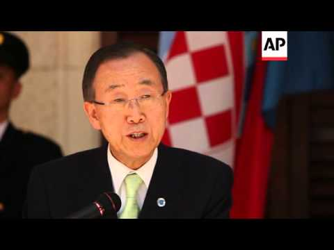 UN Secretary-General comments on Syria