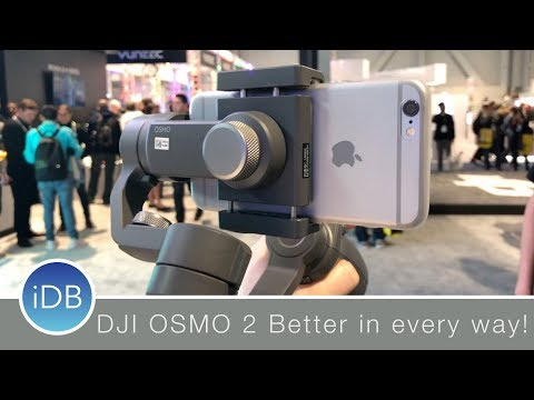 Hands-On: DJI Osmo Mobile 2 - New Design, New Features, Better Price