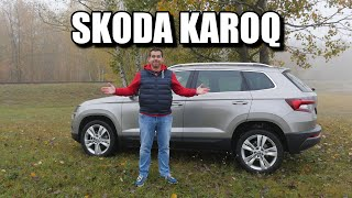 Skoda Karoq 1.0 TSI (ENG) - Test Drive and Review