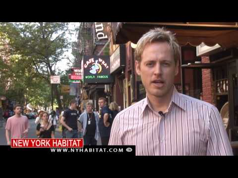 New York City - Video Tour of Greenwich Village, Manhattan