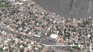 Albuquerque Police Department Air Support APD Airplane Air 5 Ride Along Fly Over City