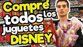 Compre todos los juguetes Disney (MEGA CONCURSO)/ Memo Aponte