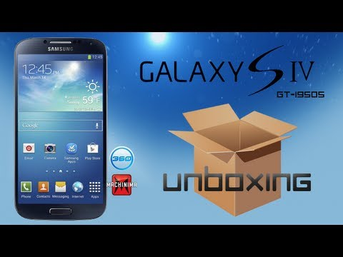 Samsung Galaxy S4 Unboxing: GT-19505