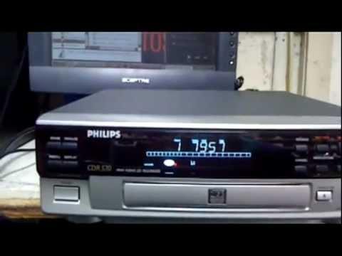 Teste do Gravador e Reprodutor de Cd Philips CDR 570