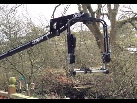 DIY Camera Jib with Mechanical Pan and Tilt Head