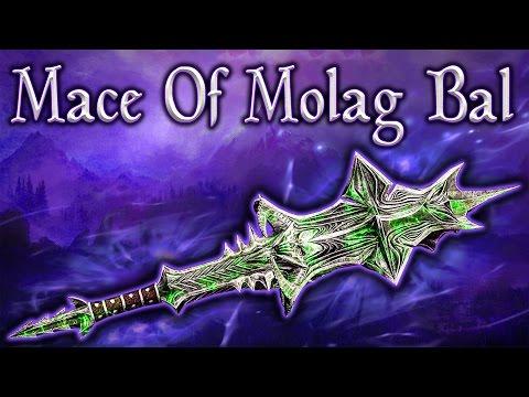 Skyrim SE - Mace Of Molag Bal - Unique Weapon Guide