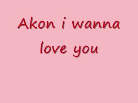 Akon i wanna love you