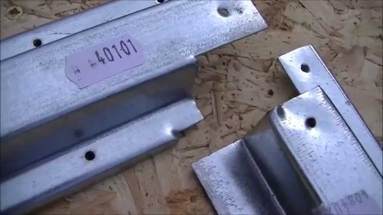Yardmaster Metal Shed Instructions Part 1 Base Assembly